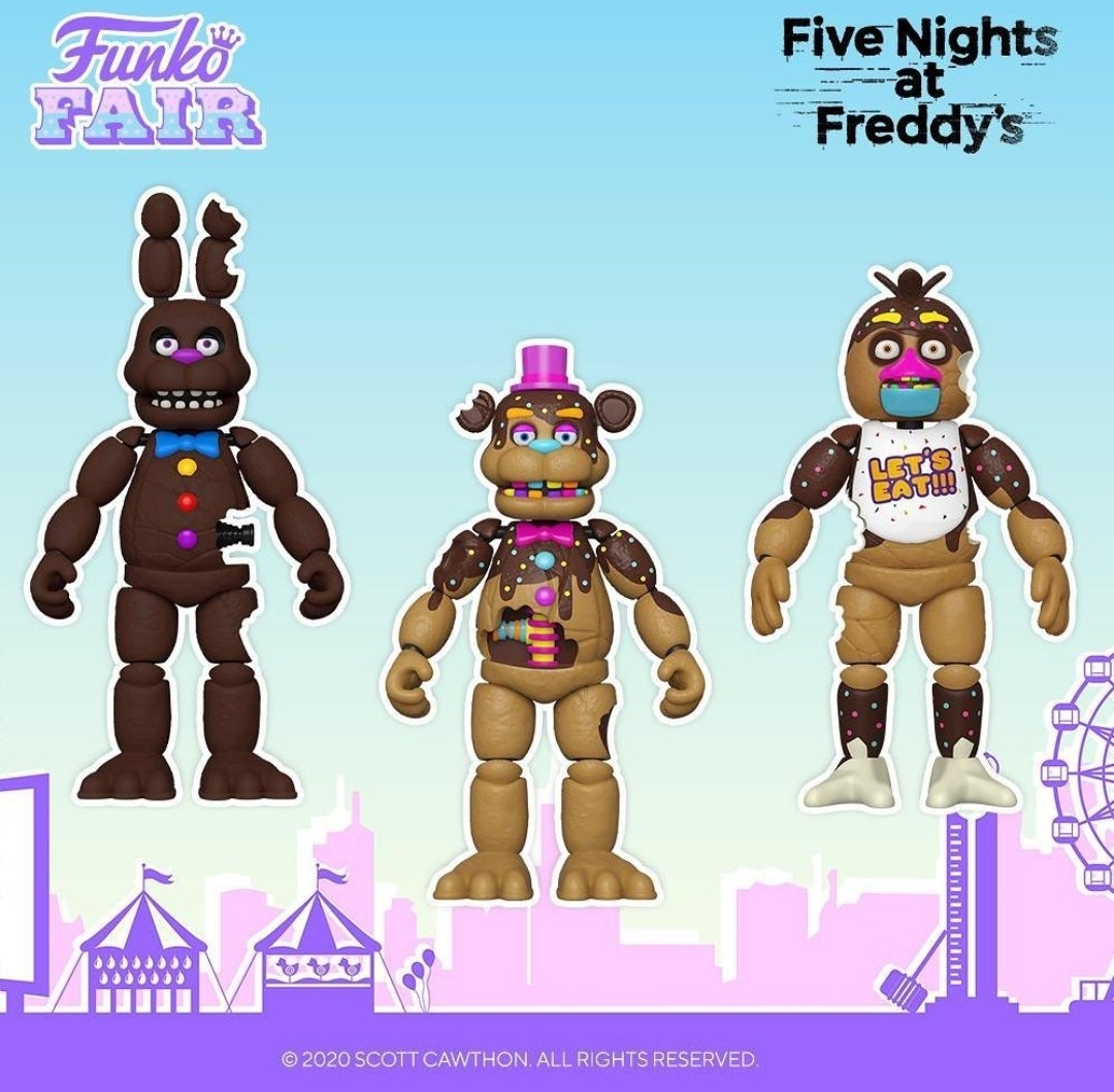 Thanks Funko and Scott Cawthon   Any comments   #gaming #Playstation #psvr #ps4 #fnaf #fivenightsatfreddys #illumix #funko #funny #funnymoments  @FNAFtitleGen @dawkosgames @FNAFAlerts @FNAFAROfficial @FnafPolls @FNAFPLUS