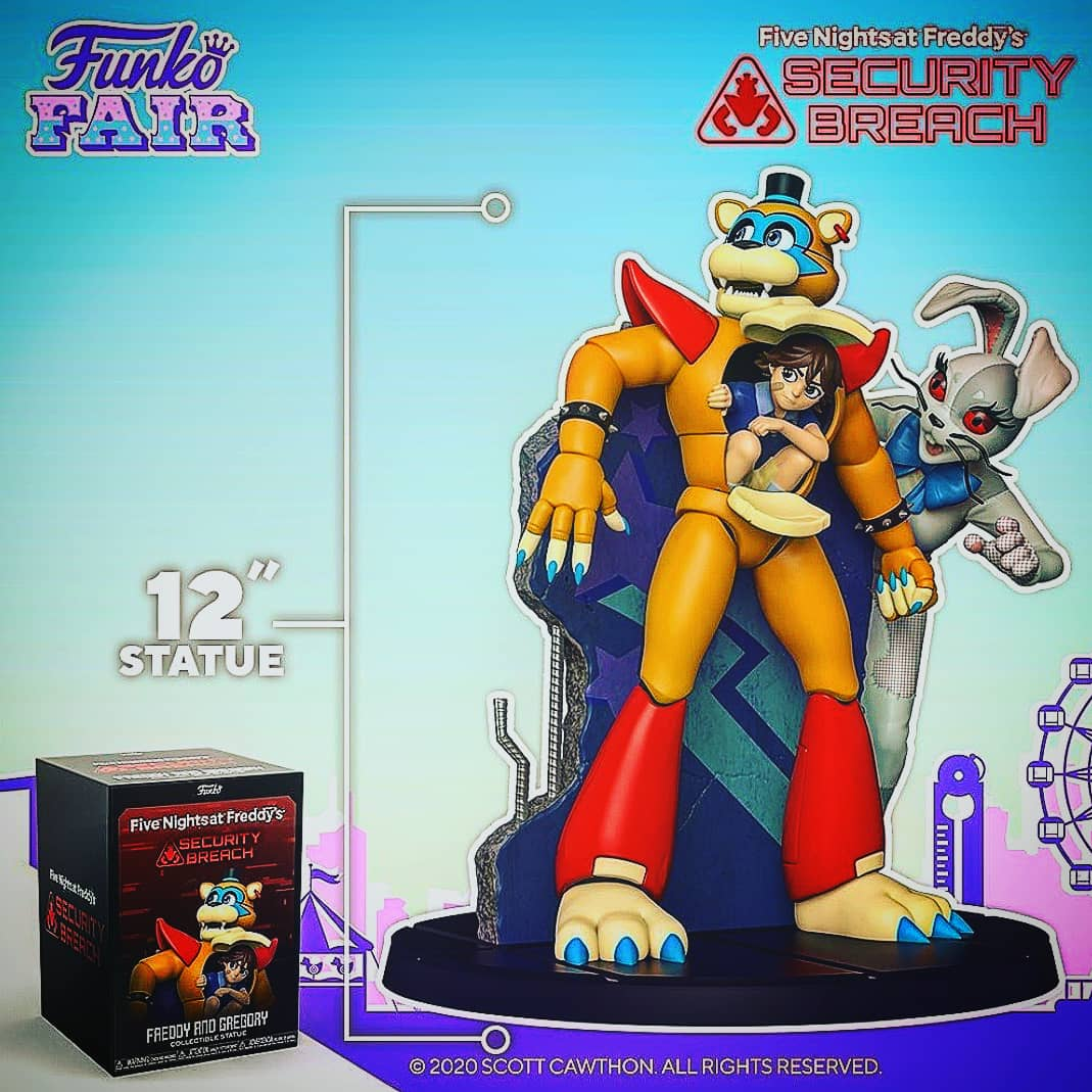 I did say I pre order these a while back   And HURRY UP and get these for a limited supply   Any comments   #gaming #Playstation #psvr #ps4 #fnaf #fivenightsatfreddys #illumix #funko #funny #dawko #ps4funny  @FNAFtitleGen @park_five @McFnafYoutube @OriginalFunko @fnaf_powerout