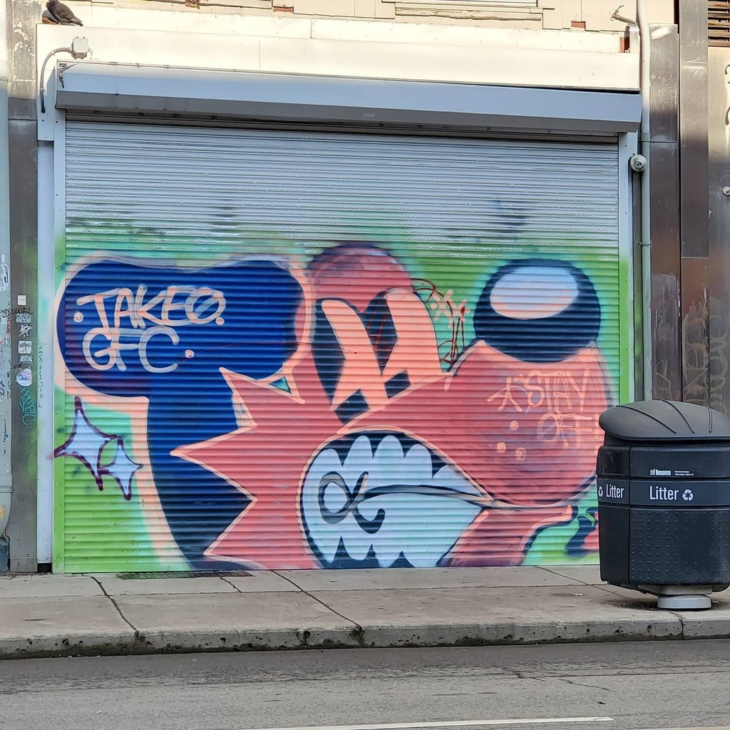 Eary Morning Queen West.  #queenwest #streetart  #litter #toronto #lockdown