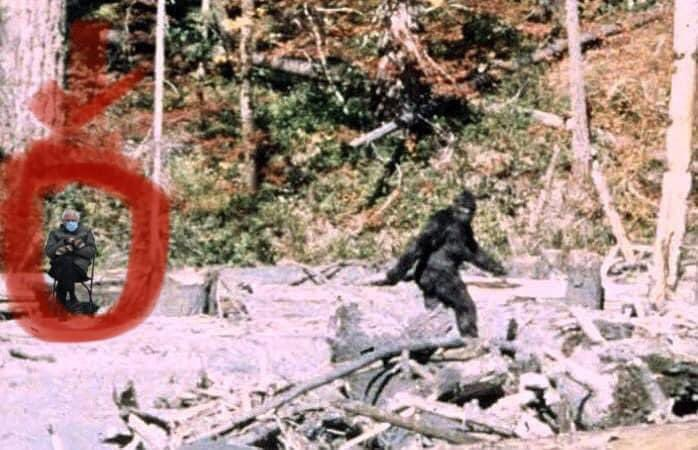 New discovery with the PG film! #berniesMittens #berniememes #BernieSanders #Bernie #bigfoot #bigfootsighting #PGfilm #sasquatch #Cryptids #Yeti