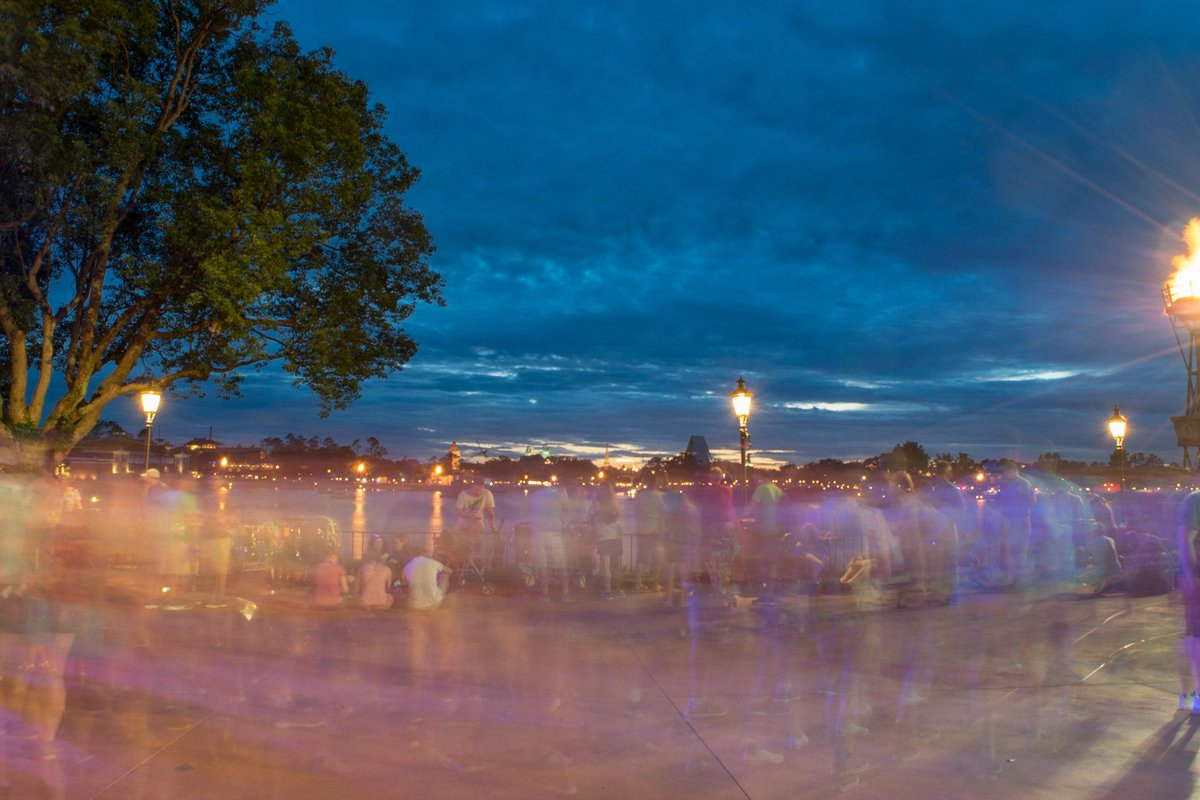 who else misses gathering around the fire? #EPCOT #Illuminations