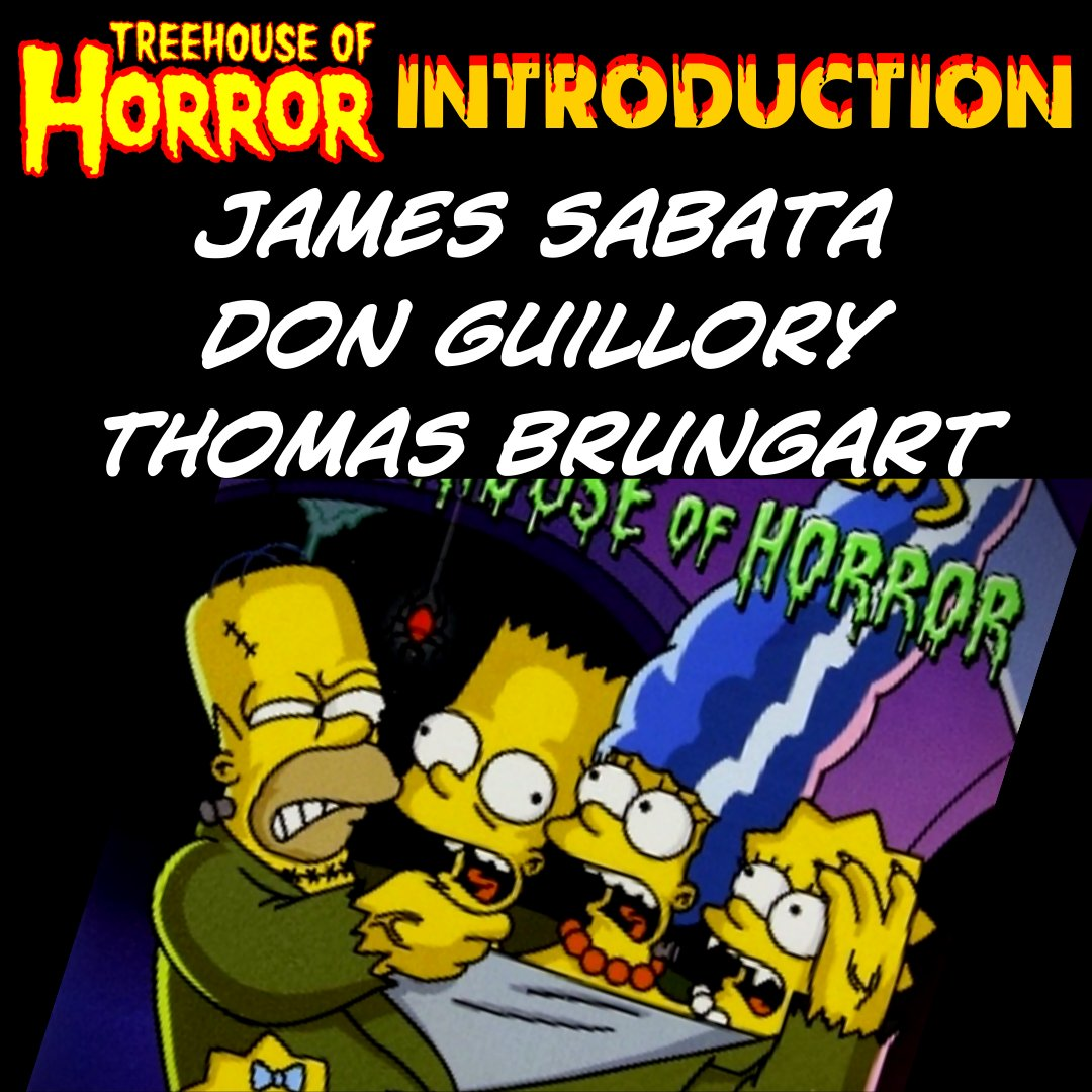 #TheSimpsons seems to have predicted everything. Did they predict we'd break down the social commentary in 31 episodes of Treehouse of Horror?  Links here:   #quarantine #quarantinelife #podcasting #SciFi #FBF #FridayThoughts #Friday #horror #films #podcast