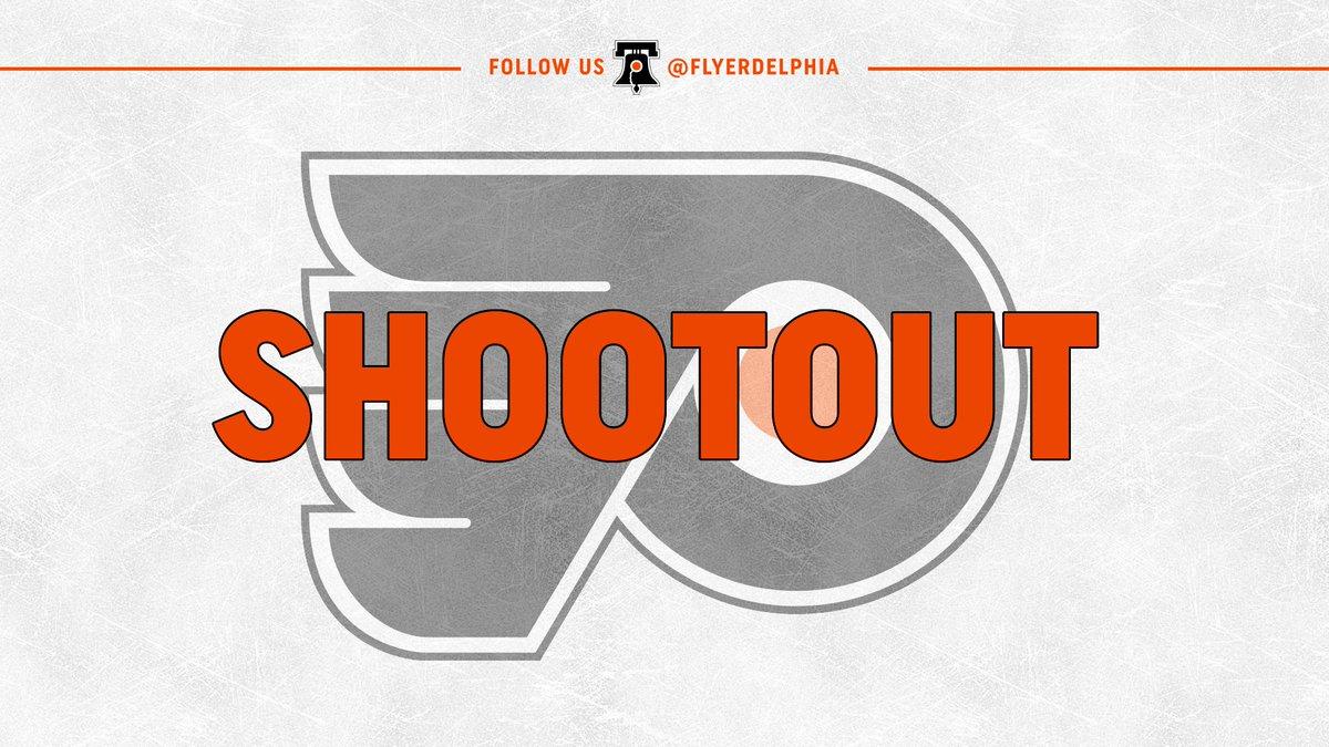 Going to a shootout. #FlyersTalk