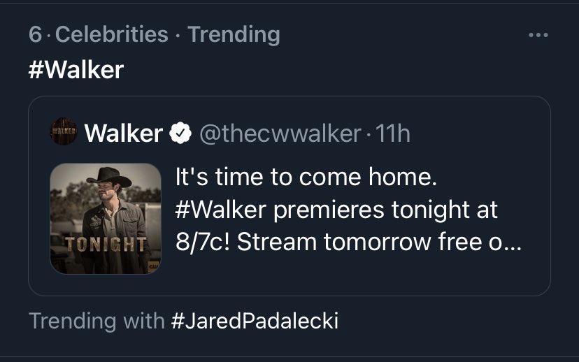 👇🏼 @jarpad So this happened #Walker #TrendingNow