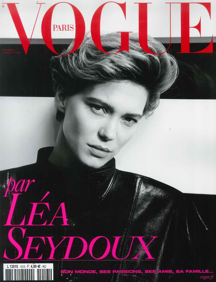 #Vogue #Paris 12/1月号は女優の #レアセドゥ が登場!#マリリンモンロー をイメージしたファッションフォトや #アルノーデプレシャン 監督との対談を掲載したファン必見の豪華な特集です。ご注文はこちらから→(あ)#海外マガジン #magazine #LeaSeydoux #arnauddesplechin