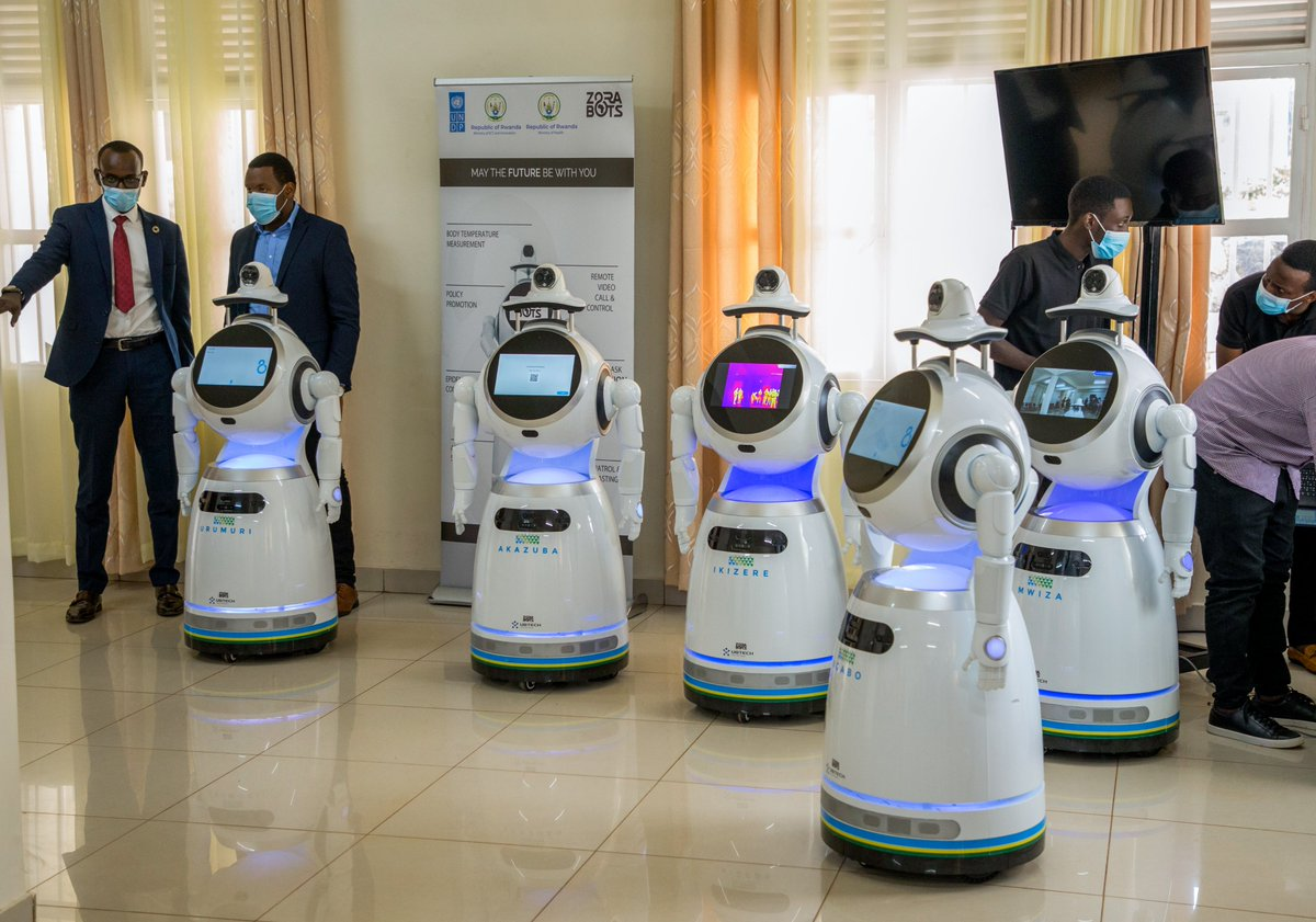 From a foot-operated handwashing machine invented by a 9yr old boy in Kenya to the roll-out of robots 🤖 in health centres in Rwanda, our @ASteiner outlines how we can sustain the current surge in #innovation to #RecoverBetter. More via @wef:  #DavosAgenda