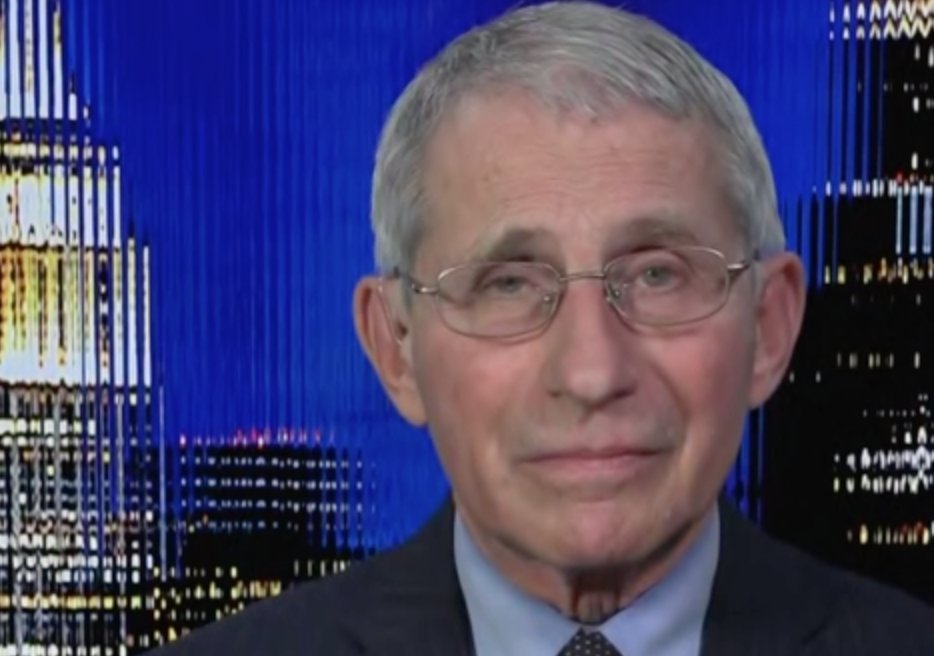 """""""It's got to be unity, Chris,"""" says Dr. Fauci on the keys to effectively battling the Covid-19 pandemic.  """"We've got to be all pulling together and put aside that just extraordinary, obstructive type of divisiveness that did not allow us as a country to work for the common good."""""""