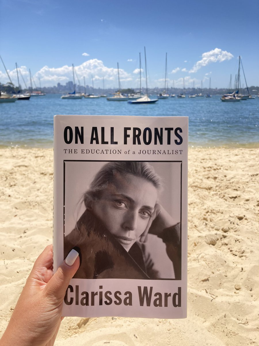 I love reading books by #journalists. They're a modern history lesson written in a personal and engaging way. This book, by @clarissaward is the very best of the best! She is a complete bad-ass and has amazing stories. Highly recommended! #BookRecommendations