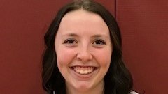 In celebration of Senior Night: We thank senior @MorganBraun7.  Your success on and off the court defines what it means to be a Lady Jaguar.  We appreciate your hard work and dedication to the program over your career.  #leader #passion #greatteammate