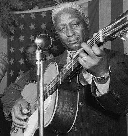 "The great blues and folk singer Huddie Ledbetter--""Leadbelly""--was born in late January of 1888, most likely between the 20th and 23rd of the month. A great American artist. Good night, Irene. #folk #blues #rootsmusic #legend #Americangrain"