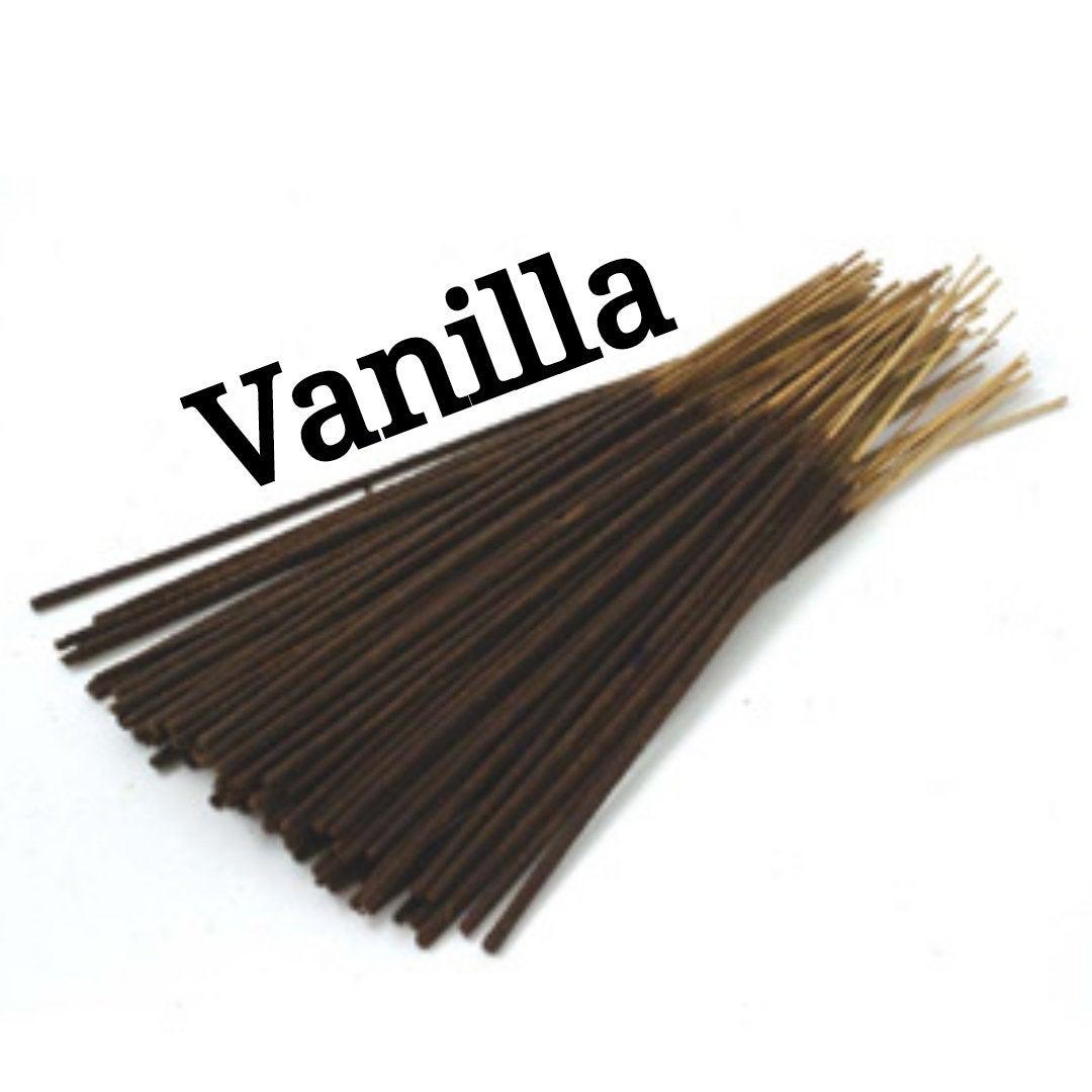 Incense Sticks | Vanilla | 30 Incense Sticks | Incense Bundle  #CyberMonday #BlackFriday #HomeFragranceOil #HerbalRemedies #Etsy #Wedding #GiftShopSale #Incense #AromatherapyOil #PerfumeBodyOils #HandmadeIncense