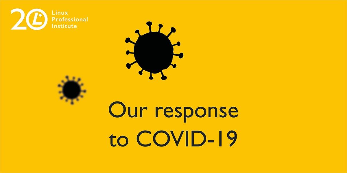 【受験者様へのお知らせ🌱】  LPIでは、各国に対するCOVID-19(コロナウイルス)の影響を軽減するため、再認証ポリシーを一時的に改訂しております。  バウチャー期限の延長について等、こちらからご確認ください。 <詳細はこちらから>   #lpi #linux #lpic #covid19 #stayhome