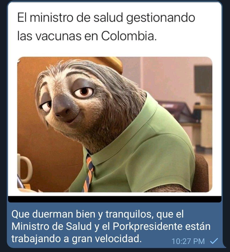 Duerman tranquilos... #AntiUribistaSigueAntiUribista #DuqueEnemigoDeColombia #DuqueLasVacunas #duquedescarado #LaVacunaPaCuando #COVID19 #Covid19Colombia