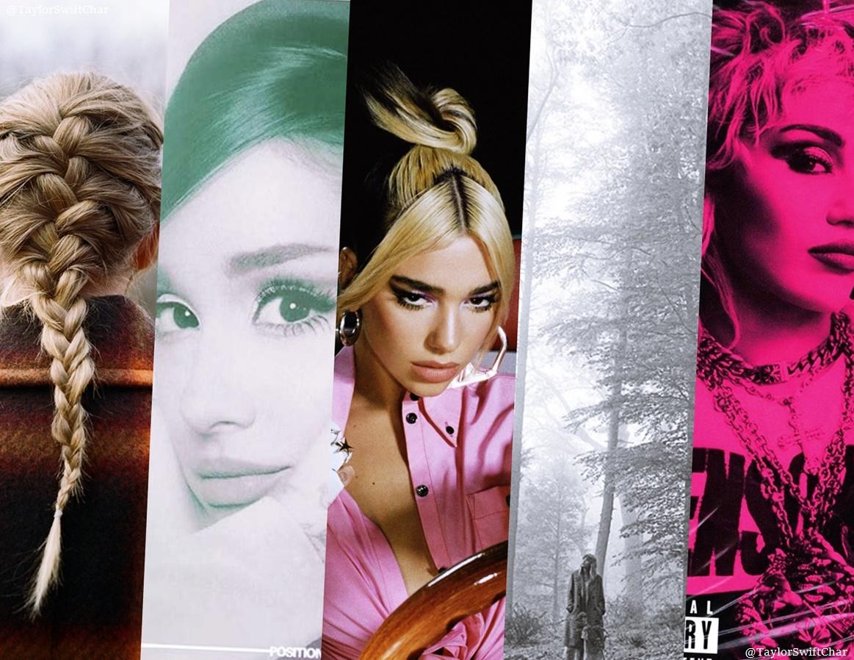 Best selling female album this week:  1. evermore, Taylor Swift — 111k 2. Positions, Ariana Grande — 67k 3. Future Nostalgia, Dua Lipa — 51k 4. Folklore, Taylor Swift — 48k 5. Plastic Hearts, Miley Cyrus — 46k  (via UWC!)
