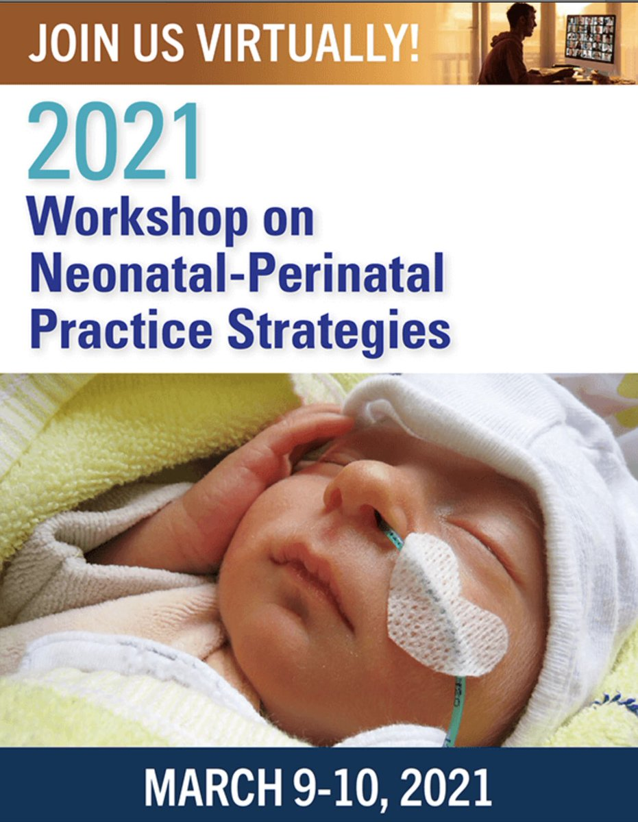 #WNPPS2021 Is virtual this year on March 9-10  2021 Highlights: #NPC19 Registry & Perinatal #COVID19 overview Making the Delivery Room as Efficient & Safe as an Airplane Cockpit Building a Comprehensive Strategic Plan for Your NICU