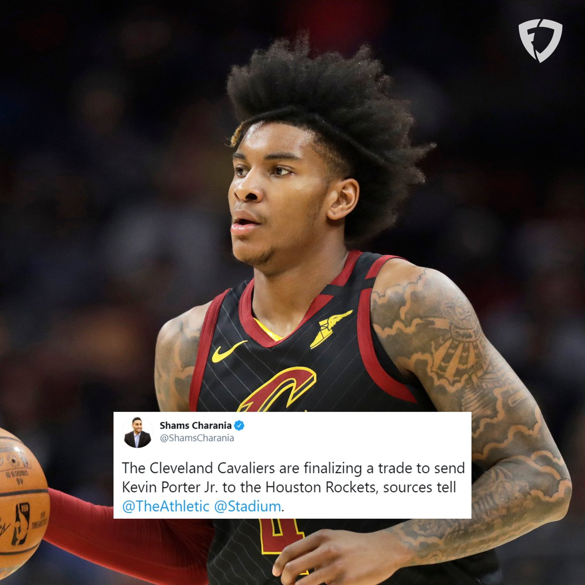 Kevin Porter Jr. to the Rockets 🚀  Thoughts? 🤔