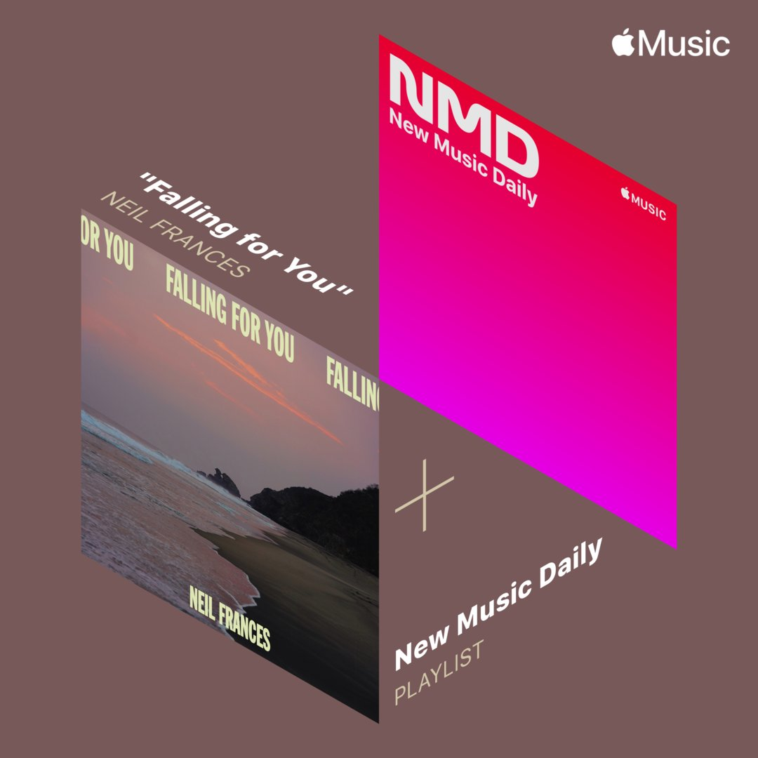 Happy Fries-Day! What a way to start off the weekend with THREE #ComesWithFries / @NettwerkMusic artists in @AppleMusic 's #NewMusicDaily playlist! 🍟 💥  Brand new releases from #NeilFrances, @cehryl , #KALI so go check out the stunning playlist: