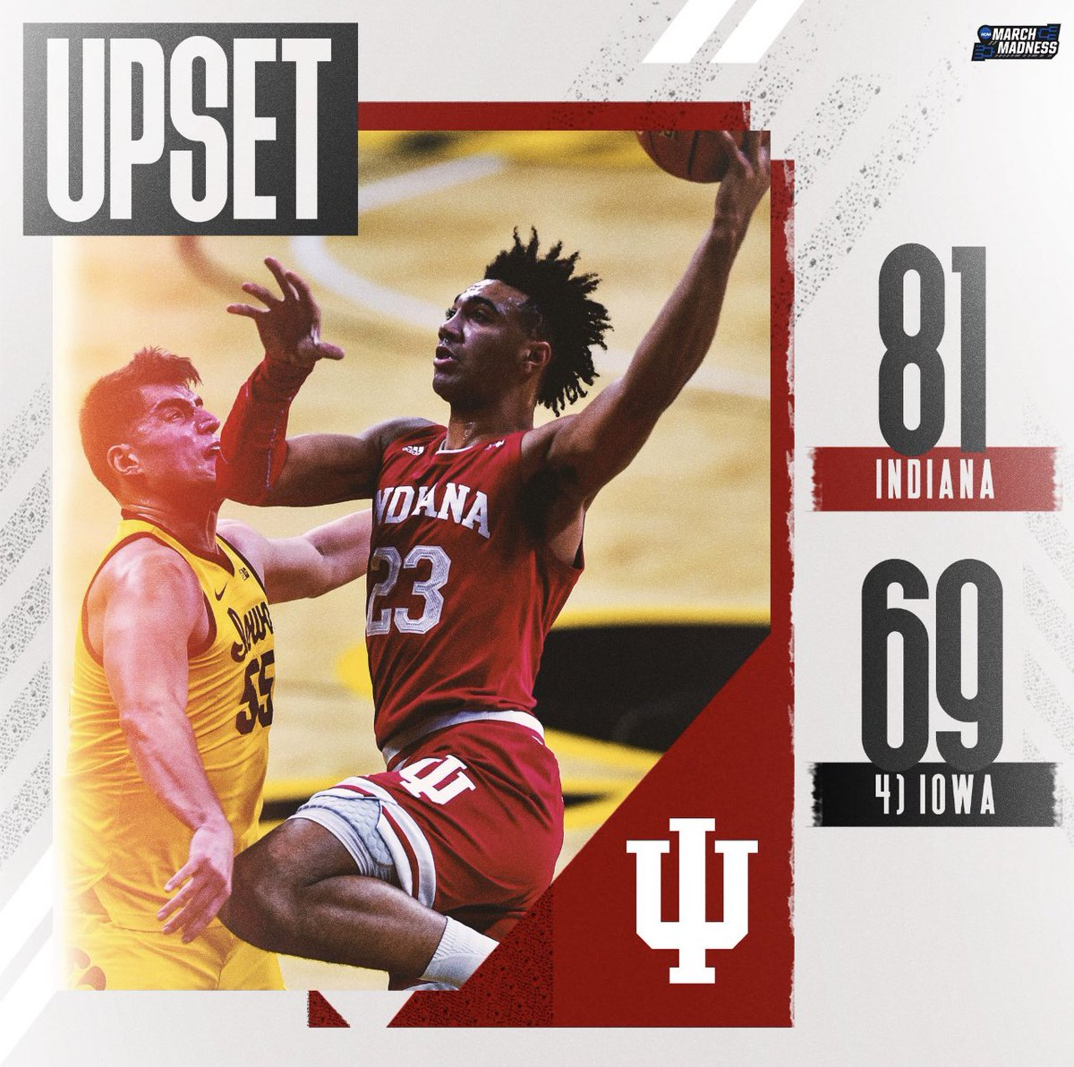 BIG WIN FOR THE HOOSIERS🔥 Lead by Trayce Jackson-Davis with 23 points and 7 rebounds. IU is looking to turn its season around and finish strong in the Big Ten Conference. Can they do it?? #IUBB