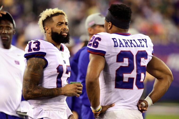 Former teammates Saquon Barkley and Odell Beckham Jr. underwent major knee surgeries just 10 days apart in late October and are now planning on rehabbing together.  https://t.co/7ytSvyD8Us https://t.co/nP5513WYq8