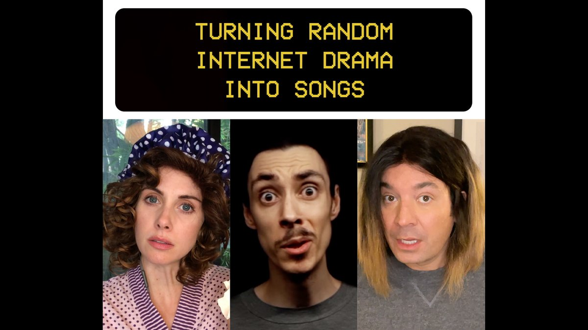 Replying to @jimmyfallon: INTERNET DRAMA PART 4 @lubalin_vibe_co @alisonbrie