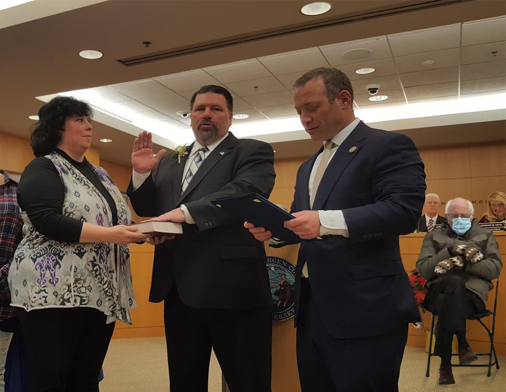 #FBF to that *cold* January night I was sworn in as Chairman of the Board. #CommissionerTomSullivan #feelthebern