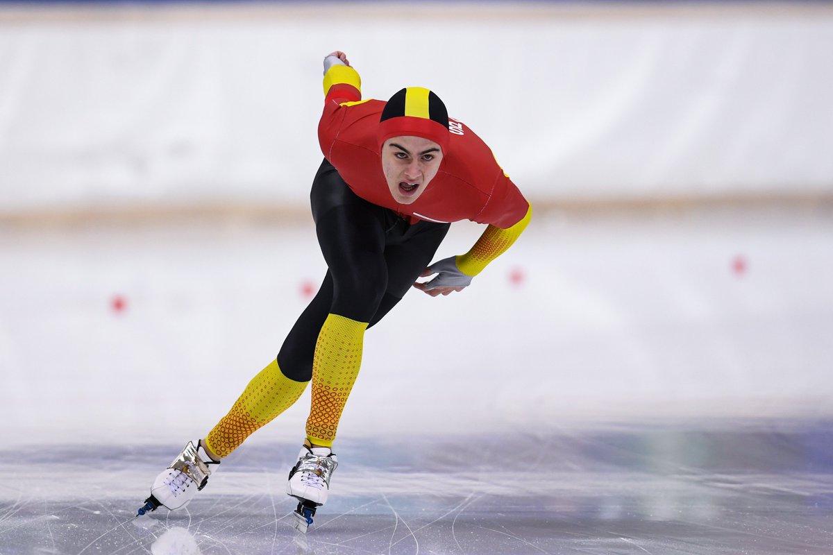 ⚡ Nil Llop, listo para las Copas del Mundo de Heerenveen  🗓️ 23-24 de enero ↔️ Participará en dos pruebas de 500 metros y una de 1000 metros de la División B 📺 Youtube de la ISU 🔗  📸 @ISU_Speed   #ViveElHielo #SpeedSkating #WorldCup