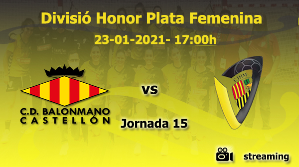#Plata 🤾♀️Demà dissabte, partit 🆚 @bmcastellon - rival directe del Sènior femení. Som-hi noies!!💪💪 El podreu seguir a través de 📺 #handbol #cjhm #beehappy🐝💛🖤 @NutriSport_SA @Mataro_Parc @esportmataro #EsportEssencial