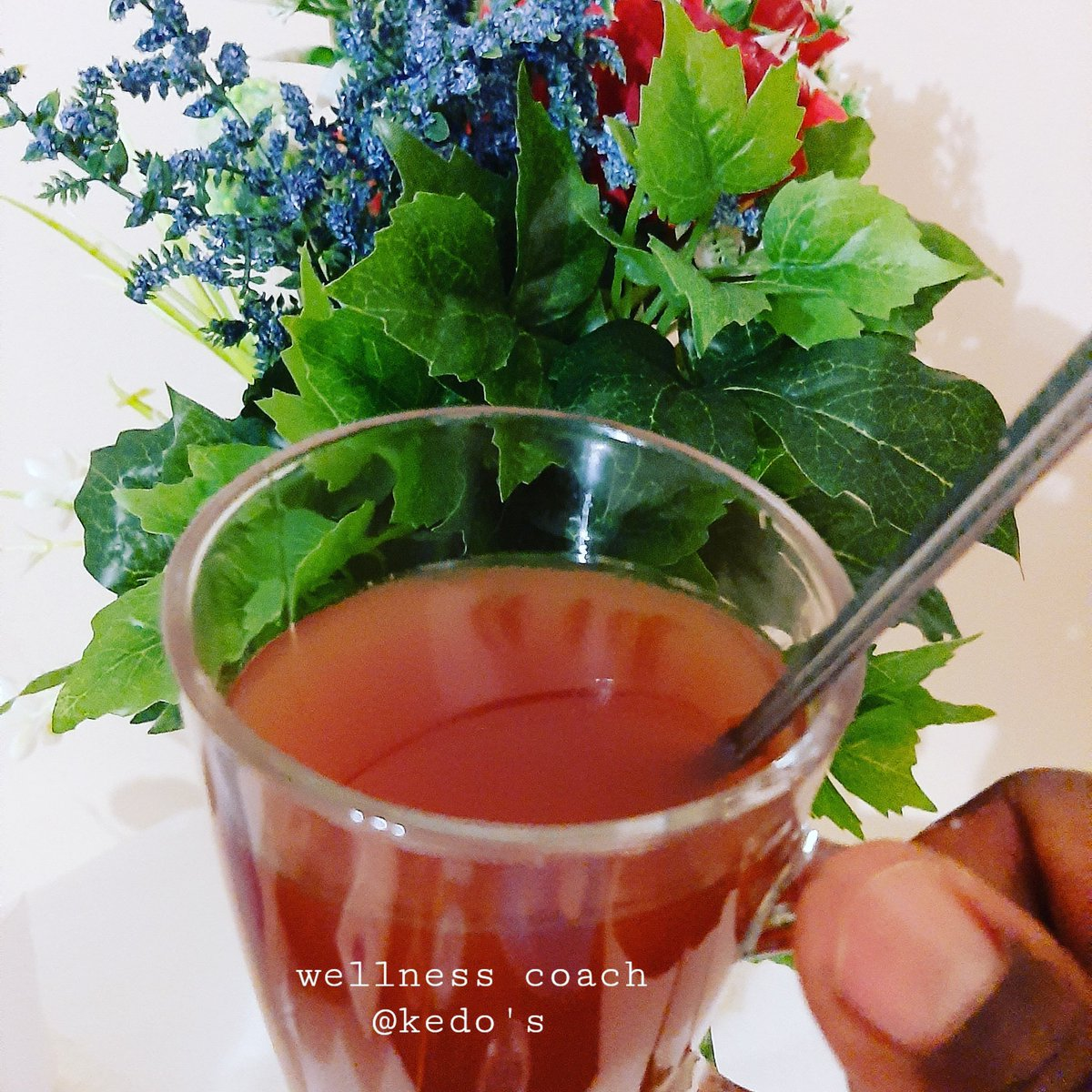 Refreshing with instant herbal tea. #FridayVibes #FridayThoughts  #lifestyle #LifeGoesOn #LifeIsABlessing