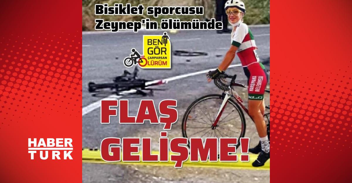 Bisiklet sporcusu Aslan'ın ölümünde flaş gelişme!: İzmir'in Menemen ilçesinde, bisiklet sürücüsü Zeynep Aslan'a (36) çarpıp, ölümüne neden olan tutuklu sanık kamyon sürücüsü Aycan Yörük'ün de aralarında bulunduğu 3 kişi… https://t.co/qM33Ua8DJz #Türkçe #SonDakika #Gündem https://t.co/I5mS9mrJdJ