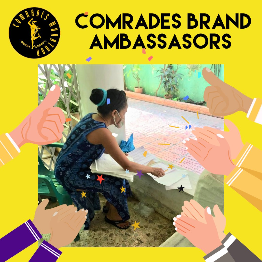 Pictured: @ComradesRace Int. Brand Ambassadors in #India working to ensure that runners receive their #RaceTheComradesLegends items.😃  The CMA is deeply appreciative of all Brand Ambassadors for always going the extra mile.👏  Find your ambassador here:  https://t.co/tHnFZd1fov https://t.co/TZLEC2uFBa