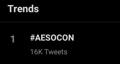 NUMBER HERE IN PH #AESOCON