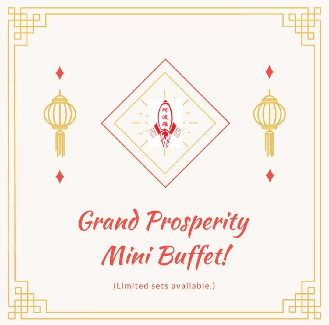 Celebrate this Chinese New Year with Mapollo's Grand Prosperity Mini Buffet today!🍊🍊 Limited sets available!😱  So what are you waiting for?! Place your order today via Whatsapp today!😄   #chinesenewyear #cny2021 #cny #mapollocatering #mapollo_catering #bentobox #minibuffet