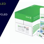 Image for the Tweet beginning: Go green with Xerox Recycled