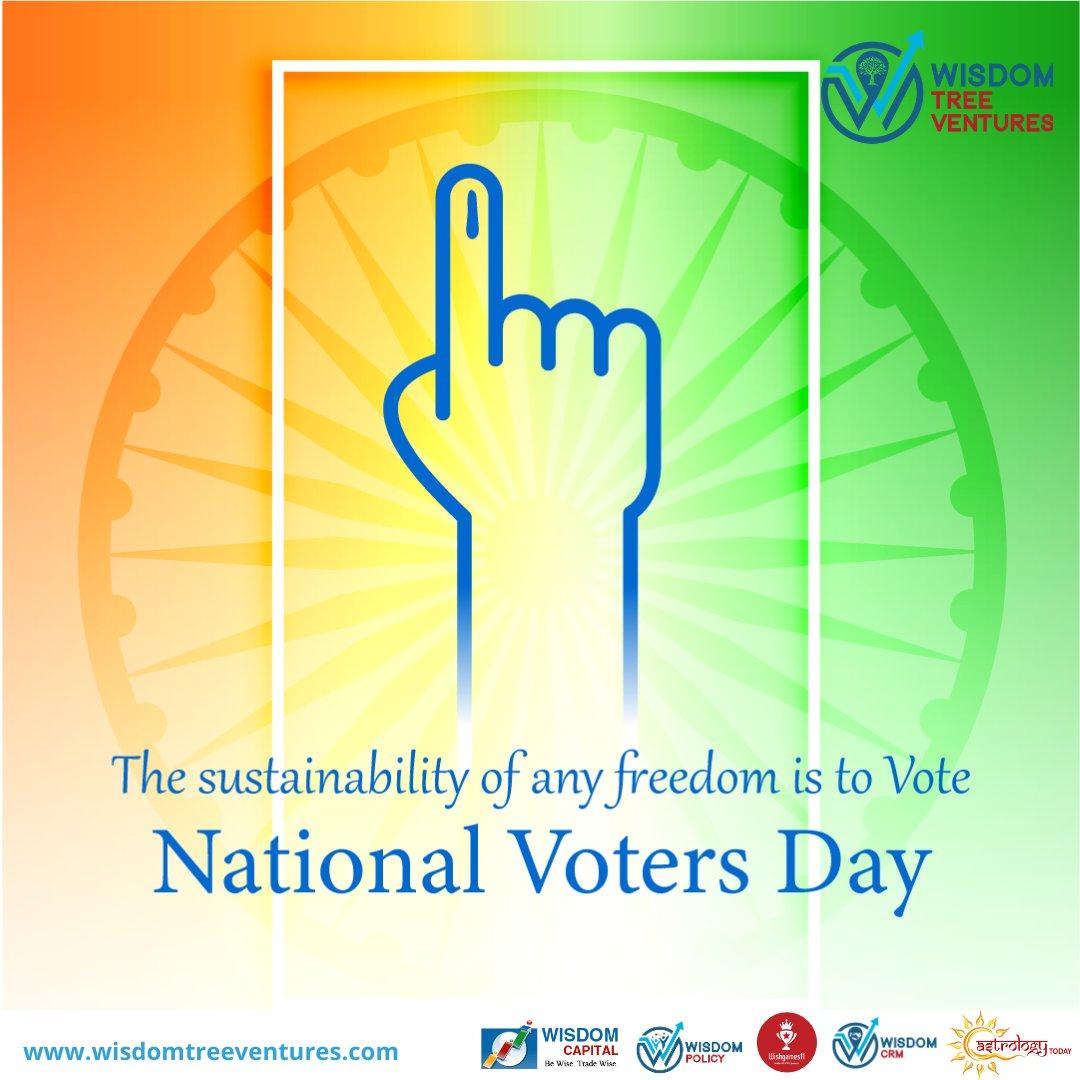 The sustainability of any Freedom is to Vote  #wisdomtreeventures #voting #vote #election #elections #politics #votingmatters #democracy #votingrights #electionday #trump #govote #registertovote #covid #america #voterregistration #ivoted #votebymail
