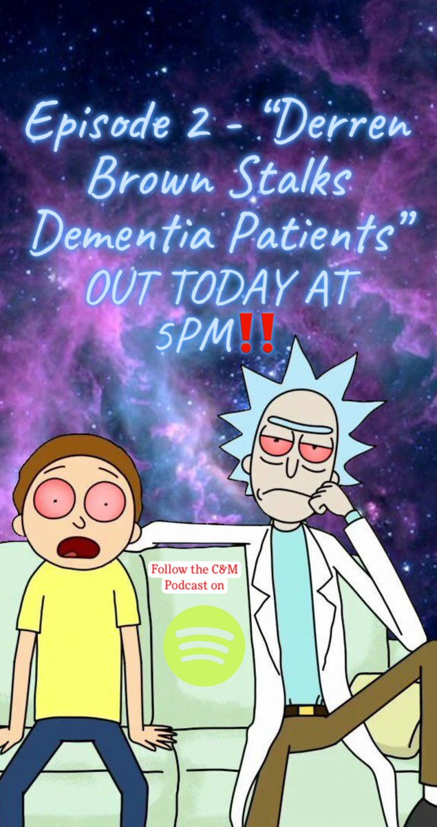"""Our latest episode """"Derren Brown Stalks Dementia Patients"""" is out‼️With #COVID19 in our path, we're working super hard to get content out - so please support us by listening, following and sharing!! Link to Spotify in bio‼️ #podcast #weed #WeedLovers #contentcreators #podcasts"""