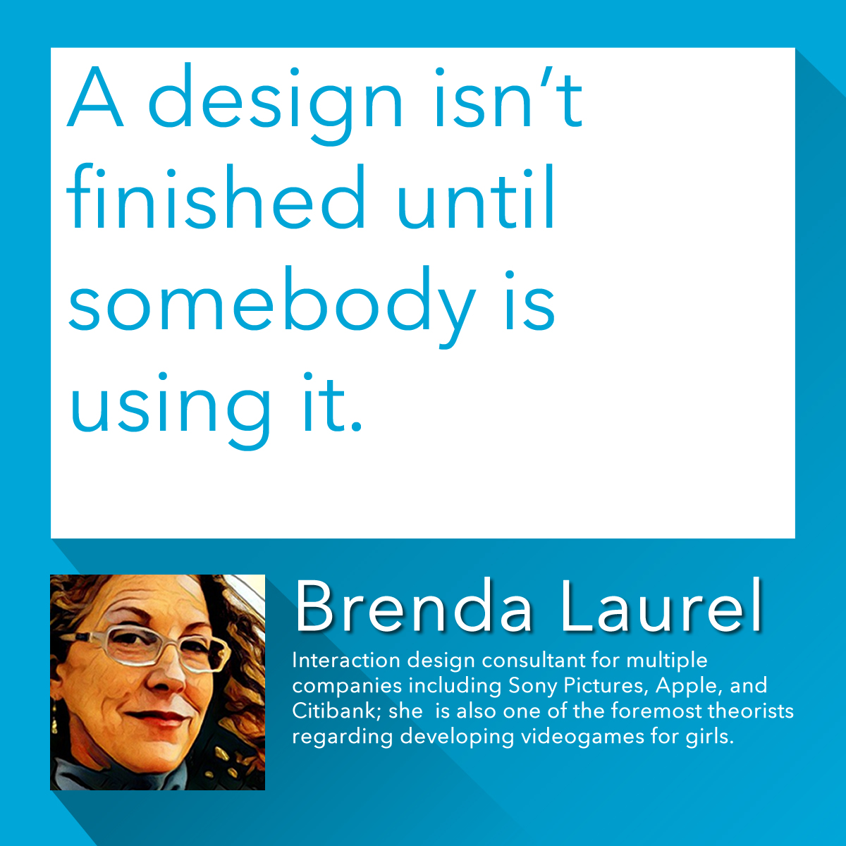 Indeed, #design that only exists as a project hidden in a drawer is not very useful. Our Design Team has a strong track record of their designs being used, from designs of #forms to #logos, #flyers, #posters, & #brochures, so give us a call on 024 7652 4729 #brendalaurel