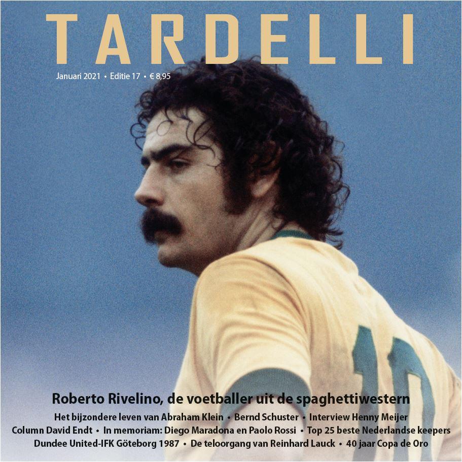 Nog 4⃣ Tardelli 17 zonder verzendkosten. Met interview  #Rivelino, het bijzondere verhaal van scheidsrechter Abraham Klein, in memoriam #Maradona & #Rossi, Top 25 Ned. keepers.    Bestellen?  Abonnement: