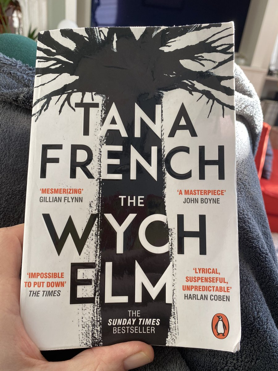 #TheWychElm @PenguinUKBooks is really excellent, as is everything #TanaFrench writes. She's brilliant at building tension, bringing one plot strand to the boil while another simmers slowly in the background, hinting at greater drama to come. You should read it.