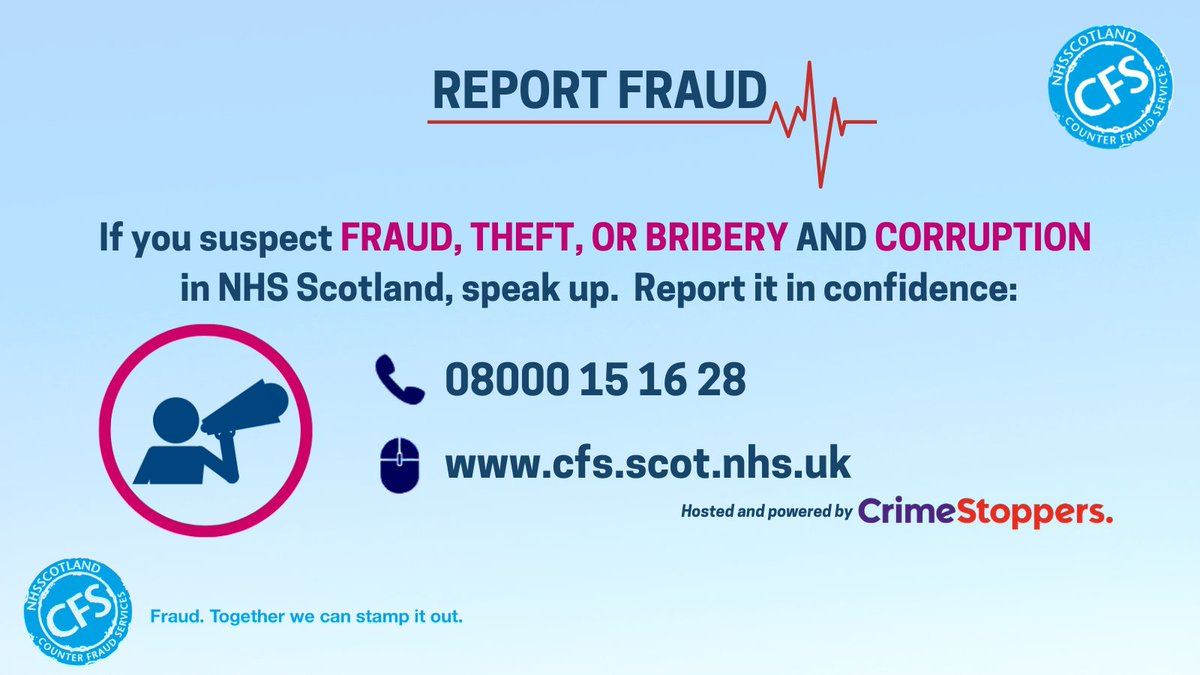 We have reached Friday again! Any queries received over the weekend will be dealt with next week We know that the NHS doesn't stop for the weekend so you can still report concerns of #NHSFraud on the Fraud Hotline 08000 15 16 28 or via  #FridayFeeling