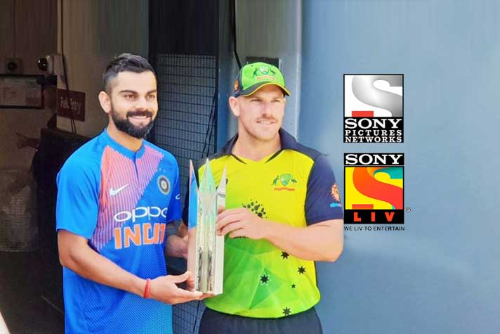 SONY is telecasting India's Match, when a wicket falls, you could have Lunch, watch a movie, have dinner and come back again to resume watching next batsman taking guard.  And tag line is absolutely perfect This Happens 'Only on SONY SPORTS NETWORK'  #AUSvIND #INDvAUS