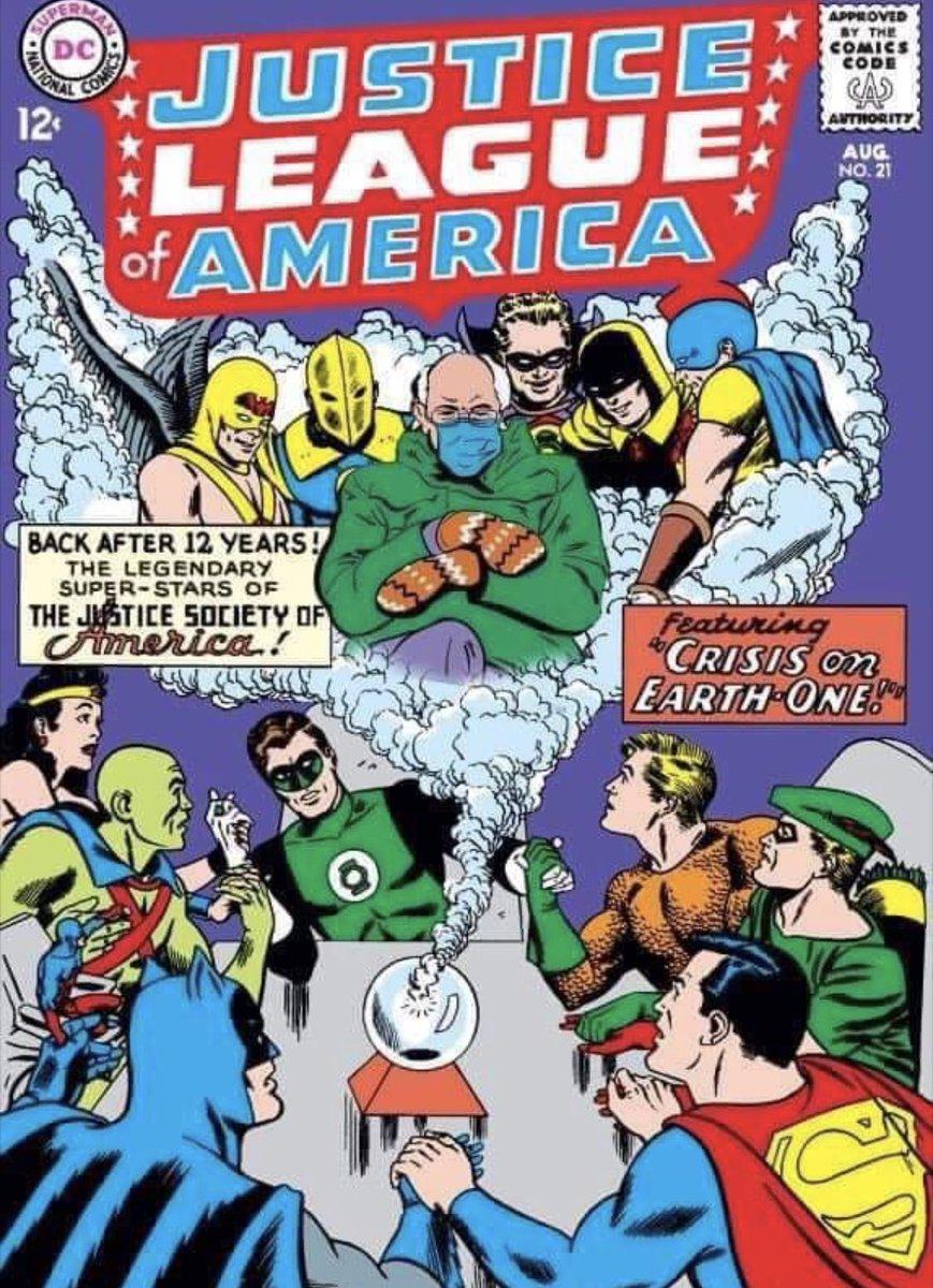 haha wow! Best one yet!! #Berniememes #BernieSanders #DC #comics #dccomics