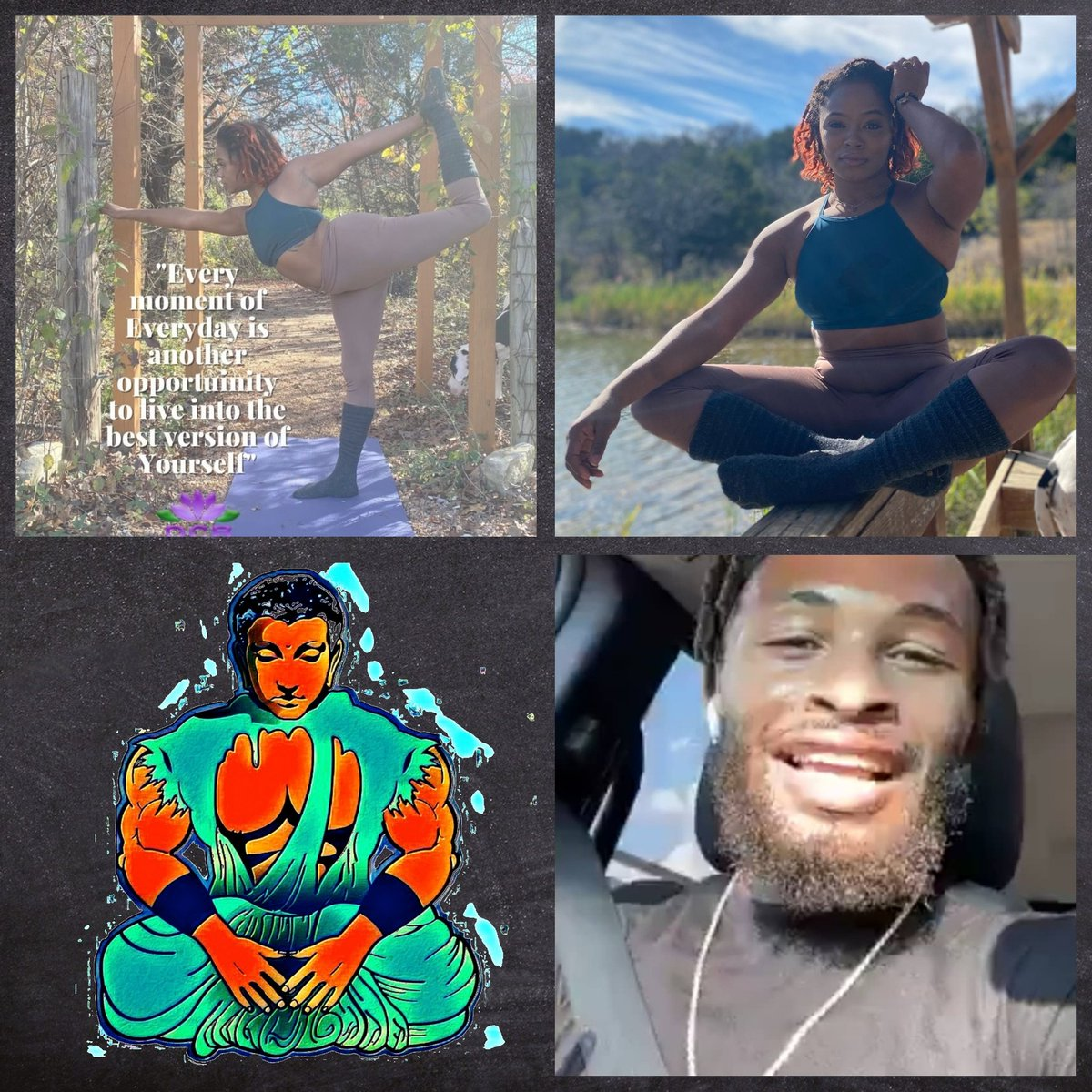 Valentine's Morning Virtual Self Love Workshop with Kbuddah Training & Yogi Diana Celeste. @KBuddahArgue and @DianaBa75525589  $20 or $30 per couple via Zoom. Details on link through FB Events or email Info.etherealjourneycoaching@gmail.com