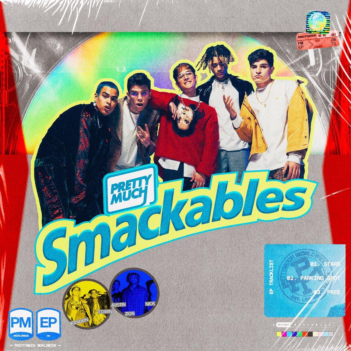 SMACKABLES EP!! LETS GO 🖤🚀