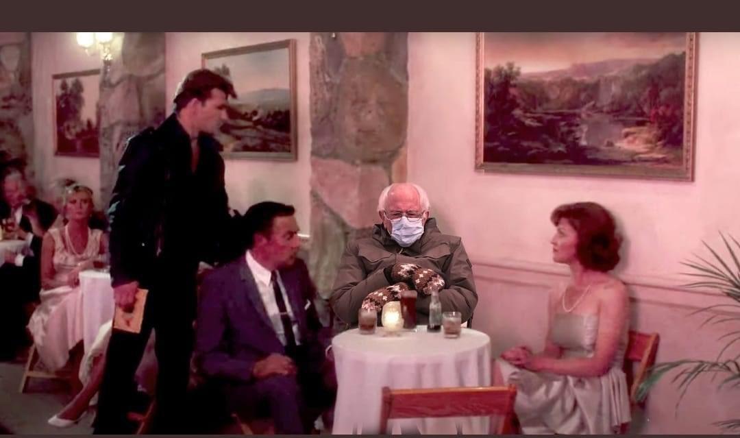 Nobody puts Bernie in a corner. #Berniememes #BernieSanders #berniesmittens