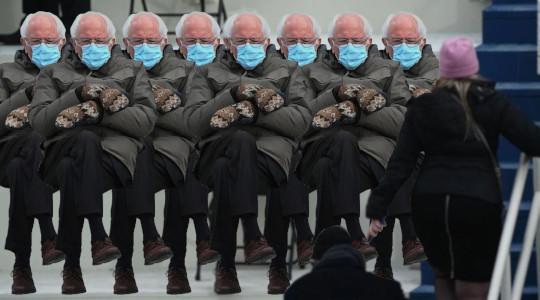 @alizaslav @Karoli #Bernie #Berniememes #BernieSandersmemes   This is how members of the #GOP see this @SenSanders inauguration picture...