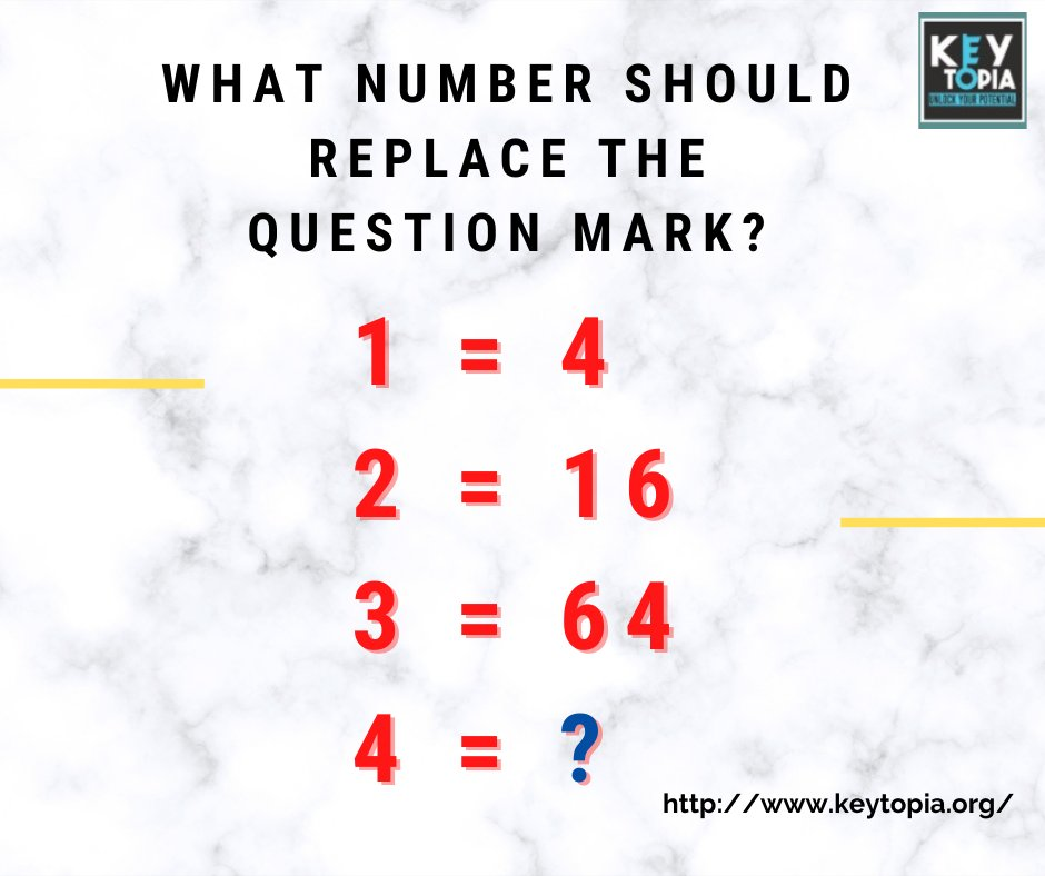 What Number Should Replace the Question Mark ??   #Keytopia #Keytopiaglobal #Quiz #Quiztime #challenge #quizmania #quizcontest #quizzes #knowledge #quizevent #quizgame #onlinecontest #onlinequiz #contestalert #kidsquiz #kidsgames