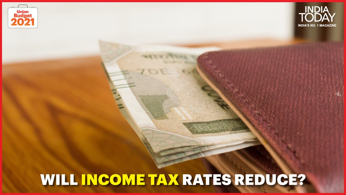 Budget 2021: Will the government lower Income Tax rates?  Click  to know. #MagazinePromo