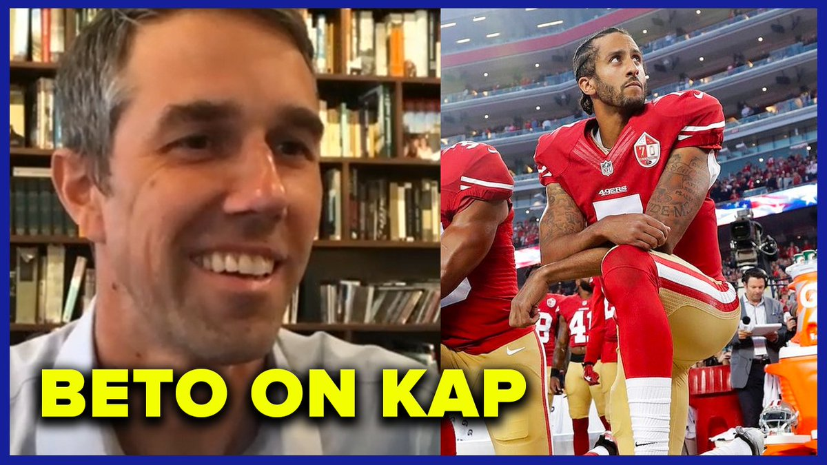 New Podcast: @BetoORourke on the enduring legacy of Colin Kaepernick