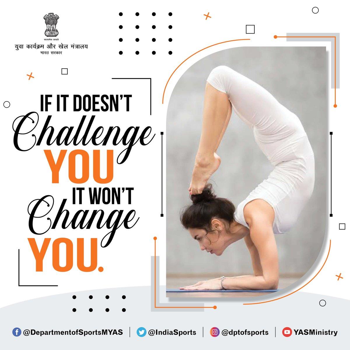 #FridayFeeling #FridayFitness #FitIndia  Challenge your limits !