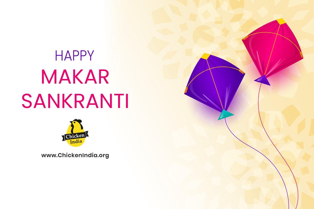 Wishing you all a happy Makar Sankranti. #MakarSankranti #chickenindia